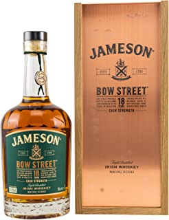 Jameson Whiskey BOW STREET 18 Years Old Triple Distilled Irish CASK STRENGTH Whisky 1 x 0.7 l