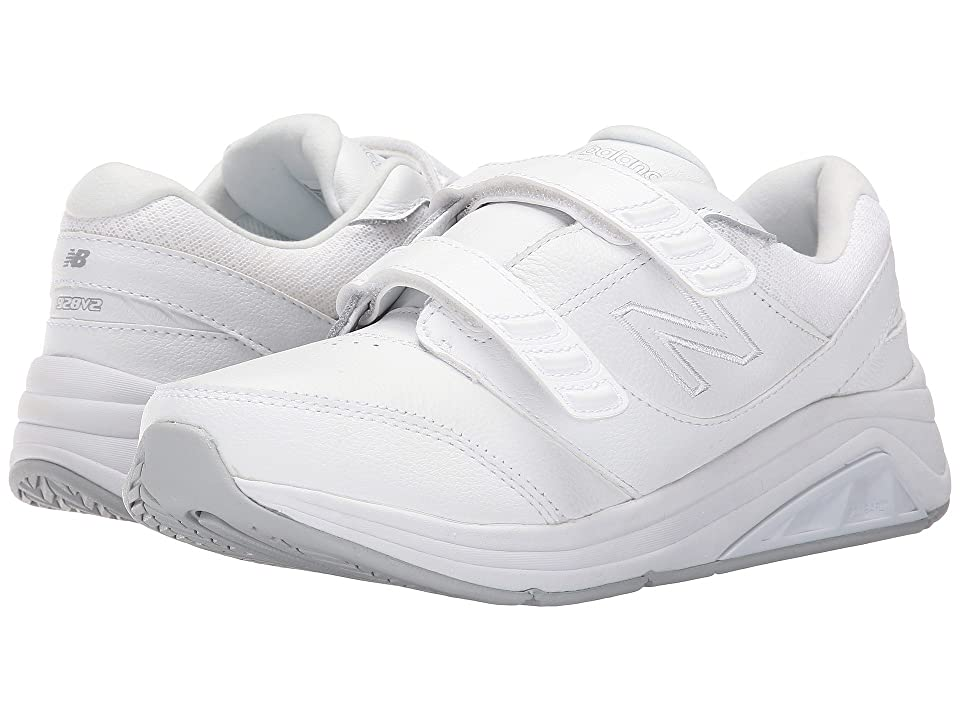 New Balance WW928v2 Hook-and-Loop (White) Women