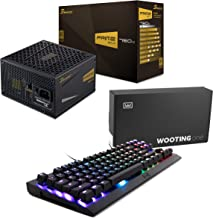 Seasonic PRIME 750 Gold SSR-750GD2 750W 80+ Gold Power Supply + WOOTING ONE Linear55 Red Analog RGB TKL Mechanical Pressure Sensitive Gaming Keyboard without Tactile and Audible feedback.