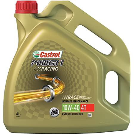 Castrol 10w 40 Öl Hiflo Ölfilter Für Honda Cbr 1000 Rr Fireblade 04 07 Sc57 Ölwechselset Inkl Motoröl Racing Filter Dichtring Auto