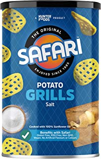 SAFARI Potato Grills Sea Salt, 100 gm