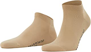 FALKE Mens Cool 24/7 Sneaker Casual Sock - 80% Cotton, Multiple Colors, US sizes 8 to 12, 1 Pair