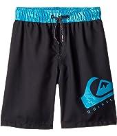 Lava Logo Volley Shorts (Big Kids)