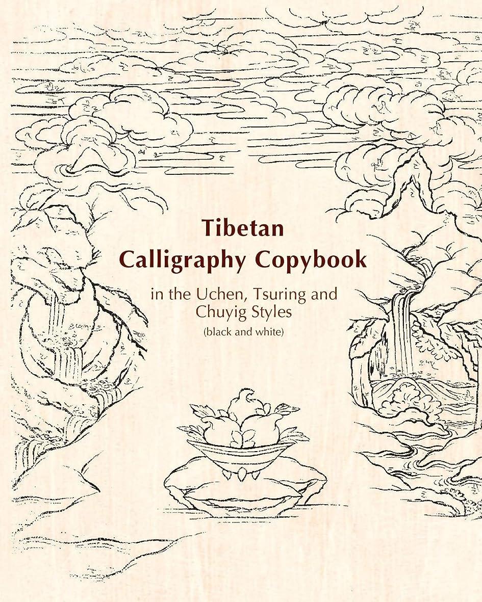 失業者洋服電気的Tibetan Calligraphy Copybook in the Uchen, Tsuring and Chuyig Styles: Black and white (Tibetan Copybooks)