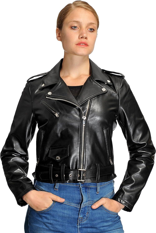 Mason & Cooper Ivy Lamb Moto Jacket