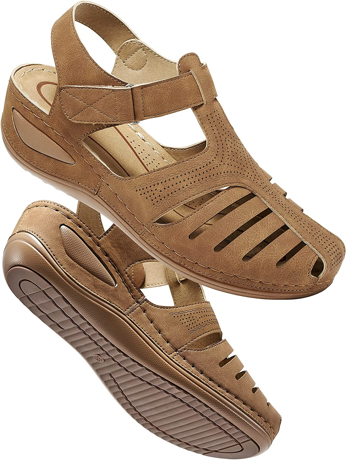 Women's Summer Sandals Casual Max 49% OFF Bohemia Comf Shoes Credence Wedge Gladiator