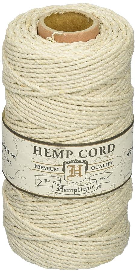 Hemp Cord Spool 48# 205 Feet/Pkg-Natural