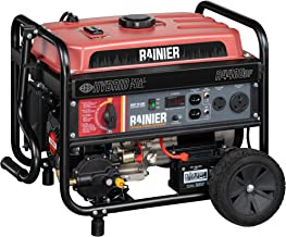 Rainier R12000DF Dual Fuel (Gas and Propane) Portable Generator with Electric Start..
