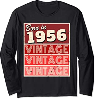 in 1956 Birthday Gift Long Sleeve T-Shirt