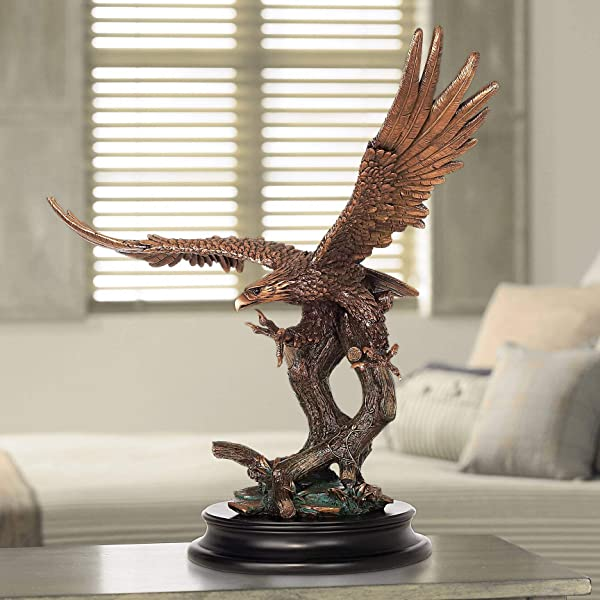 Kensington Hill Eagle Taking Flight 24 1 2 High Large Bronze Sculpture