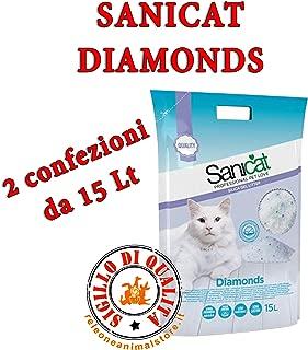 Offerta 2 Sacchi Sanicat Diamonds LETTIERA Cristalli 7,5 LT