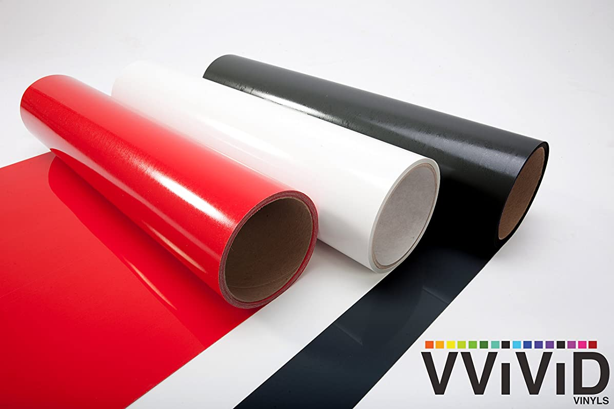 VViViD Heat Transfer Vinyl Multi-Color Bundle 12