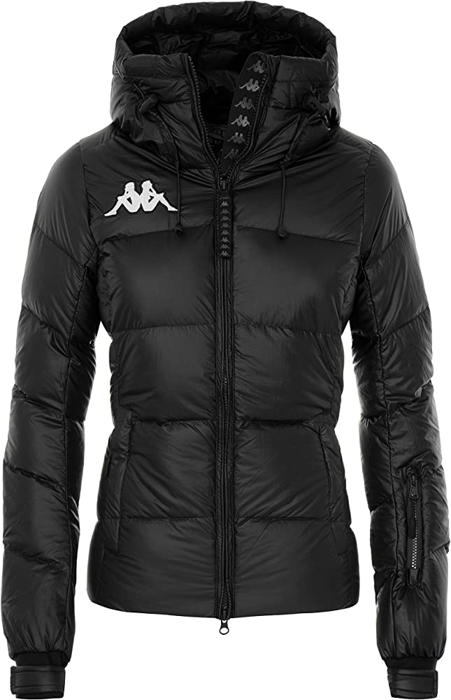 Kappa, 6cento 666,giubotto, giacca per  donna,in tessuto cangiante laminato in nylon con tecnologia water prot 3114SWW