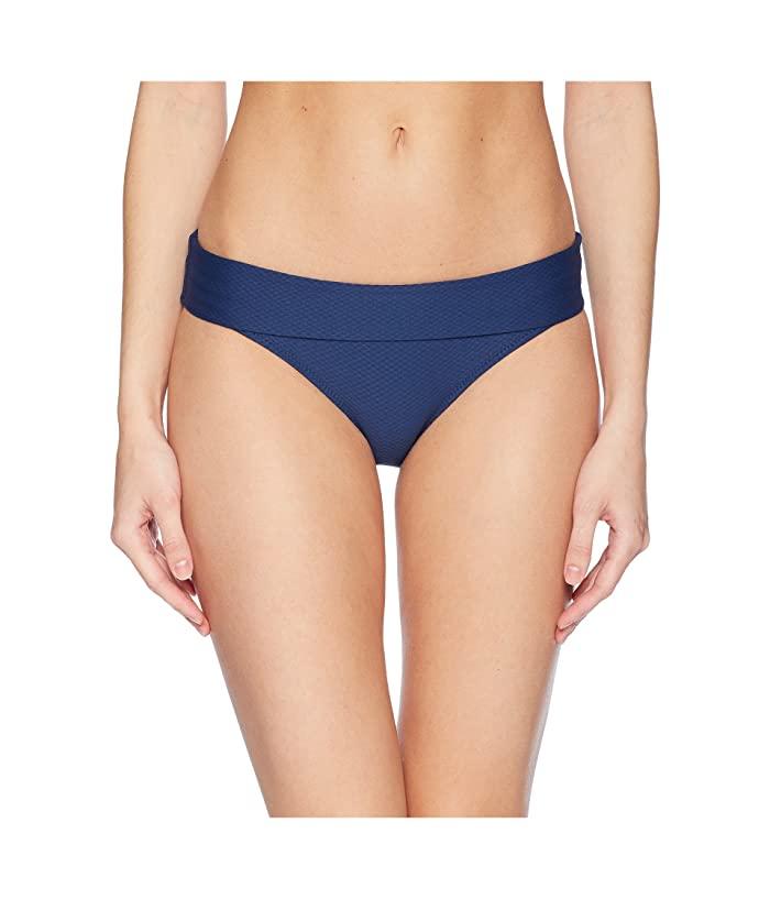 Heidi Klein Core Fold-Over Bottom (Navy) Women