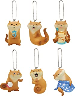 Kitan Club Kawaii Kawauso (Otter) Plastic Toy- Blind Box Includes 1 of 6 Collectable Figurines - Fun, Versatile Decoration - Authentic Japanese Design - Made from Durable Plastic