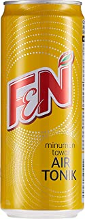 F&N Sparkling Extra Dry Tonic Water, 325ml (Pack of 24)