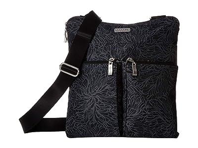 Baggallini Legacy Horizon Crossbody (Midnight Blossom) Cross Body Handbags