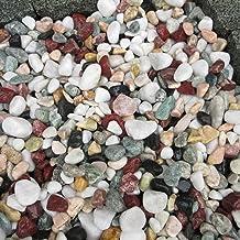 天然石 玉石砂利 1-2cm 100kg 五色砂利 (ガーデニングに最適 5色砂利)