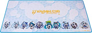 Thermaltake Tt Esports Dasher Extended Hatsune Miku Limited Edition Gaming Mouse Pad Snow Miku 2019 Edition Semi-Coarse Su...