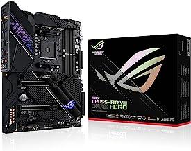 ASUS ROG Crosshair VIII Dark Hero AMD AM4 Zen 3 Ryzen 5000 & 3rd Gen Ryzen ATX Gaming Motherboard (PCIe 4.0, 14+2 TI Power...