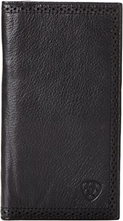 Ariat Shield Perforated Edge Rodeo Wallet