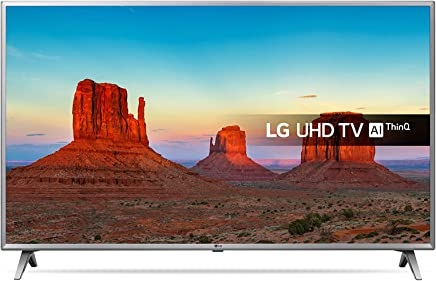 3885f764eb63 LG 75UK6500PLA 75-Inch UHD 4K HDR Smart LED TV with Freeview Play - Steel