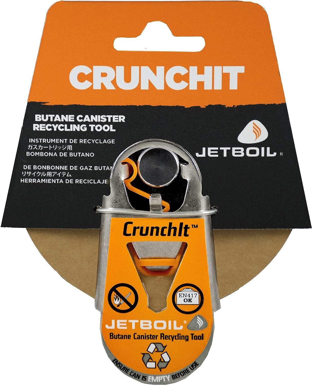 Jetboil Herramienta De Reciclaje del Frasco De Combustible CrunchIt