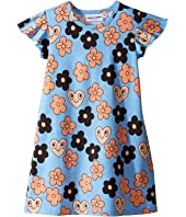 mini rodini - Flowers Wing Dress (Infant/Toddler/Little Kids/Big Kids)