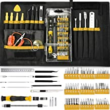 ORIA Screwdriver Set, Magnetic Driver Kit, Professional Repair Tool Kit, 76 in 1 Screwdriver Kit with Portable Bag, Flexib...