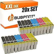 20 Bubprint Druckerpatronen kompatibel für Epson T1291 T1292 T1293 T1294 für Stylus SX235W SX425W SX430W SX435W SX440W WF-3520 Office BX305F BX305FW