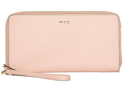 Tumi Belden Travel Wallet (Blush) Wallet Handbags