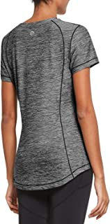 BALEAF Women's Workout Yoga Shirts Quick Dry Short Sleeve Running Tee Exercise Long Tops