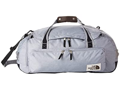 The North Face Berkeley Duffel Medium (Mid Grey Light Heather/TNF Black Heather) Duffel Bags