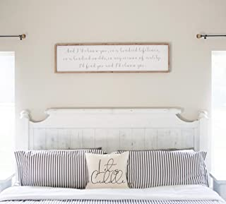 Bedroom Décor I'd Choose You Farmhouse Sign