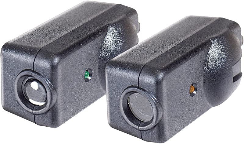 Chamberlain LiftMaster Craftsman Garage Door Opener Replacement Safety Sensors G801CB P Includes 2 Sensors Mounting Brackets And Hardware