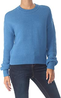 Maison Jules | Ribbed Sleeve Sweater | Cornflower Petal