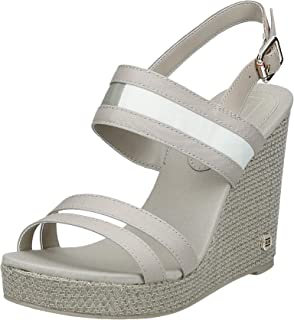Tommy Hilfiger Th Round Hardware High Wedge, Women's Fashion Sandals