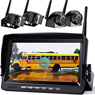 """$479 » 1080P Wireless Backup Camera w/ Built-in Recorder 9"""" FHD Monitor"""
