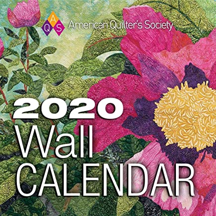 American Quilter's Society 2020 Wall Calendar