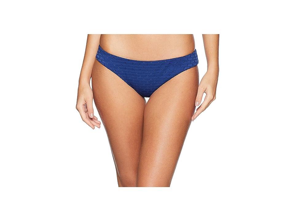 Lucky Brand Belle-Air Cheeky Hipster Bottom (Navy) Women