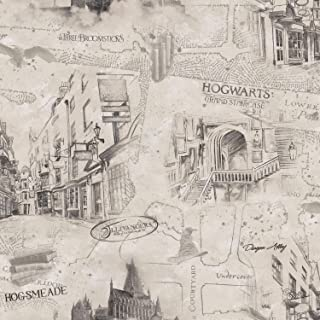 harry potter peel and stick wallpaper