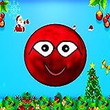 Bola roja de Navidad