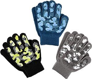 Magic Knit Kids Stretch Gloves