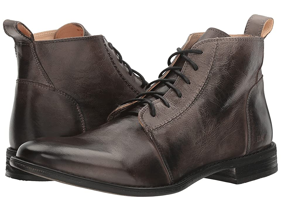Mens Vintage Style Shoes & Boots| Retro Classic Shoes Bed Stu Louis Smoke Grey Rustic Leather Mens Shoes $185.00 AT vintagedancer.com