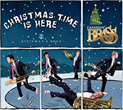 christmas time is here brass quintet