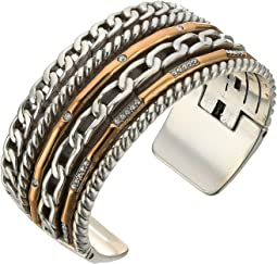 Brighton - Neptune's Rings Double Hinged Bangle