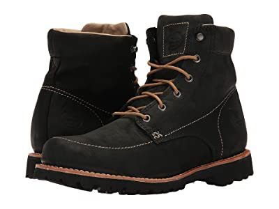 Georgia Boot Small Batch 6 Moc Toe (Black) Men