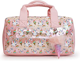 OMG! Accessories Duffle Bag for Girls (Pink Unicorn Sweets)