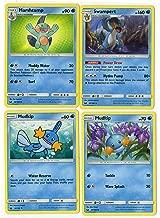 Evolution Set - SWAMPERT MARSHSTOMP Mudkip 35/168 - Celestial Storm - 4 Card LOT Rare
