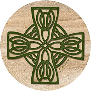 Thirstystone Drink Coaster Set, Celtic Cross